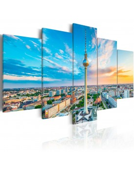 Schilderij - Berlin TV Tower, Germany