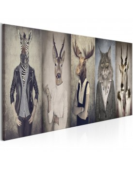 Schilderij - Animal Masks