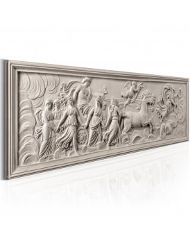 Schilderij - Relief: Apollo and Muses