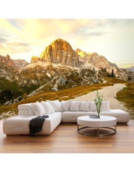 Fotobehang - Beautiful Dolomites