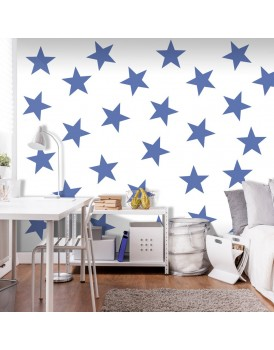 Fotobehang - Blue Star