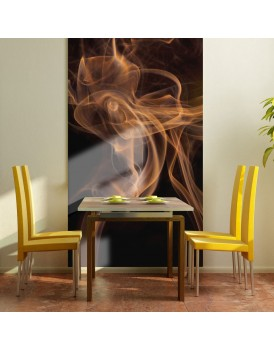 Fotobehang - Smoke art