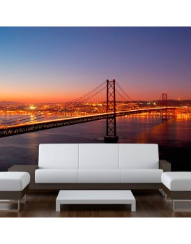 Fotobehang - Bay Bridge - San Francisco
