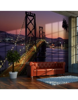 Fotobehang - Charming evening in San Francisco