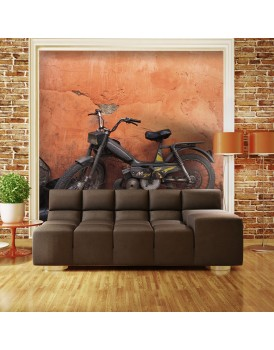 Fotobehang - Old moped