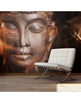 Fotobehang - Buddha. Fire of meditation.