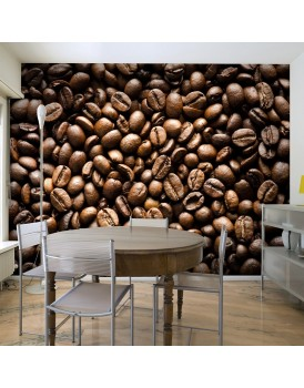 Fotobehang - Roasted coffee beans