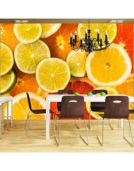 Fotobehang - Citrus fruits