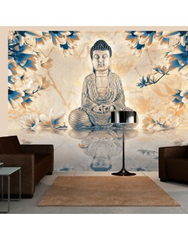 Fotobehang - Buddha of prosperity