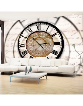 Fotobehang - Clock movement