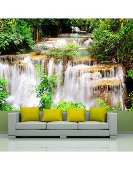 Fotobehang - Thai waterfall