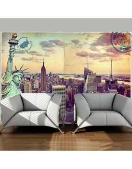 Fotobehang - Postcard from New York