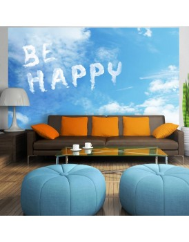 Fotobehang - Be happy