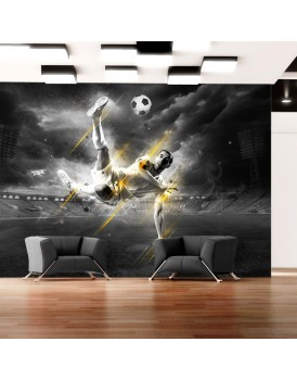 Fotobehang - Football legend
