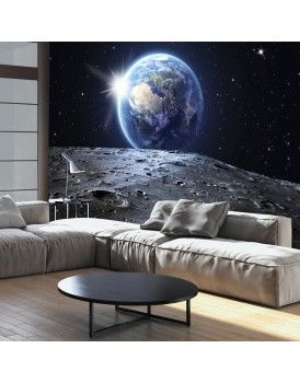 Fotobehang - View of the Blue Planet