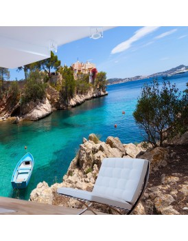 Fotobehang - Holiday Seclusion