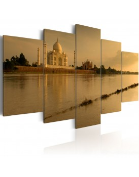 Schilderij - The legendary Taj Mahal