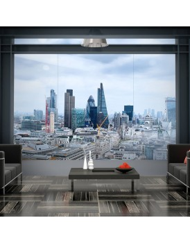 Fotobehang - City View - London