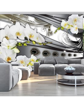 Fotobehang - Orchids & jewelry