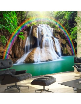 Fotobehang - Waterfall of Fulfilled Wishes