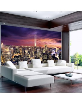 Fotobehang - Evening in New York City