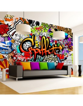Fotobehang - Colorful Graffiti