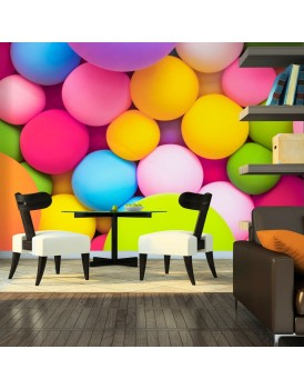 Fotobehang - Colourful Balls