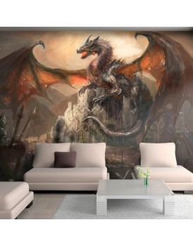 Fotobehang - Dragon castle