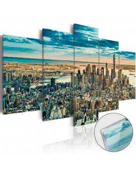 Afbeelding op acrylglas - NY: Dream City [Glass]