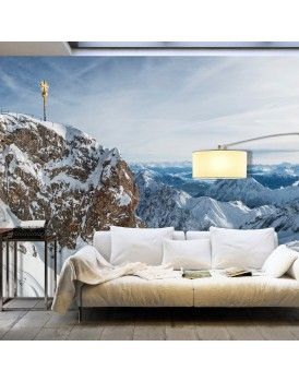 Fotobehang XXL - Winter in Zugspitze