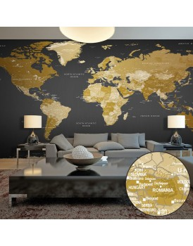 Fotobehang XXL - World Map: Modern Geography II