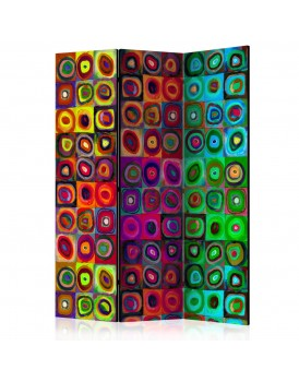 Vouwscherm - Colorful Abstract Art  [Room Dividers]