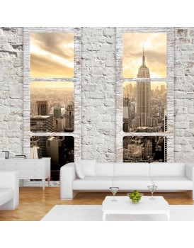 Fotobehang - New York: view from the window