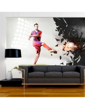 Fotobehang - Power of football