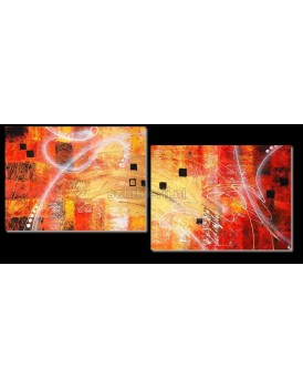 Abstract schilderij 4851