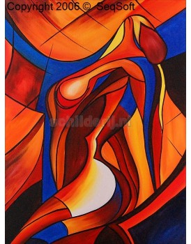 Abstract schilderij 5620