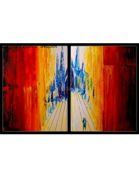 Abstract schilderij 5727